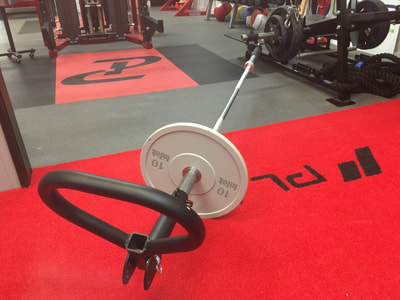 Strength Equipment using the Landmine Attachment SoupBone